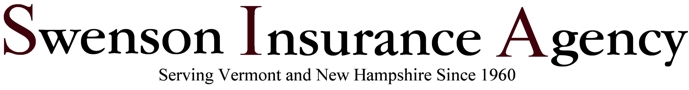 Swenson Insurance Agency, Serving Vermont and New Hampshire Since 1960